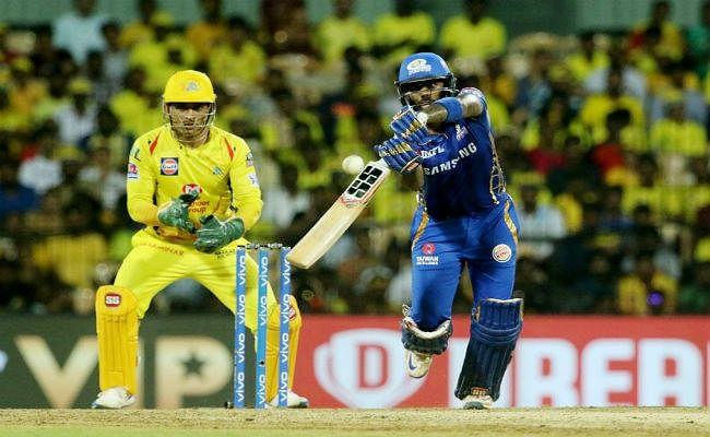 IPL Qualifier 1 : सुपरकिंग्स को छह विकेट से हराकर मुंबई इंडियन्स शान से फाइनल में