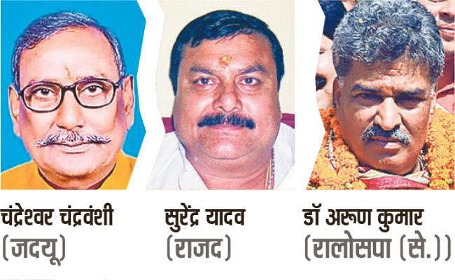 जहानाबाद में पहली बार मुख्य मुकाबले में अतिपिछड़ा उम्मीदवार, त्रिकोणीय मुकाबले के आसार