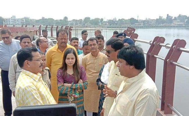 संजय सेठ की पहल : रांची के बड़ा तालाब के किनारे बनेगी चौपाटी, सप्ताह में दो दिन लगेगा रात्रि बाजार