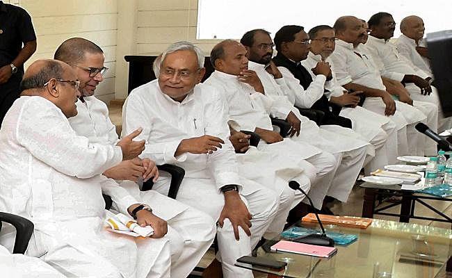 जदयू राष्ट्रीय कार्यकारिणी : बिहार के बाहर एनडीए का हिस्सा नहीं होगी JDU