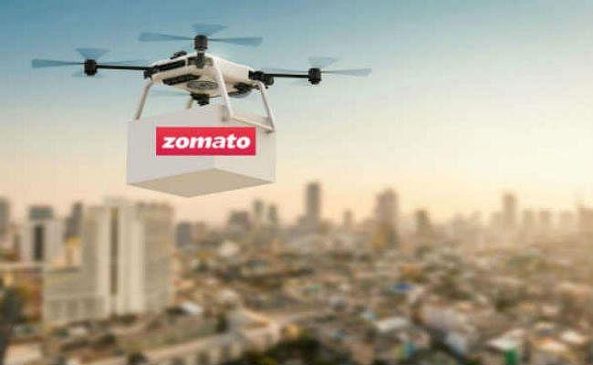 Zomato अब ड्रोन के जरिये आप तक पहुंचाएगा खाना, परीक्षण सफल