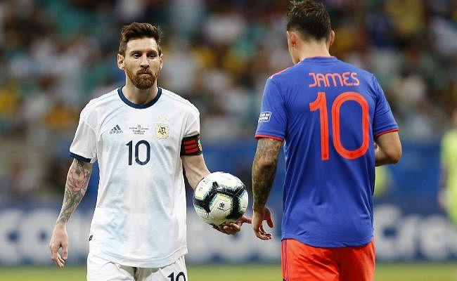 कोलंबिया ने 20 साल बाद अर्जेंटीना को हराया, कोपा अमेरिका में दी 2-0 से शिकस्त