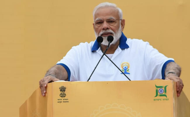 #YogaDay2019 पर PM Modi ने रांची में बताये उत्तम स्वास्थ्य के लिए चार 'पकार'
