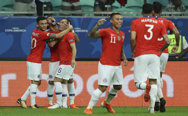 कोपा अमेरिका : सांचेज के गोल से चिली क्वार्टरफाइनल में