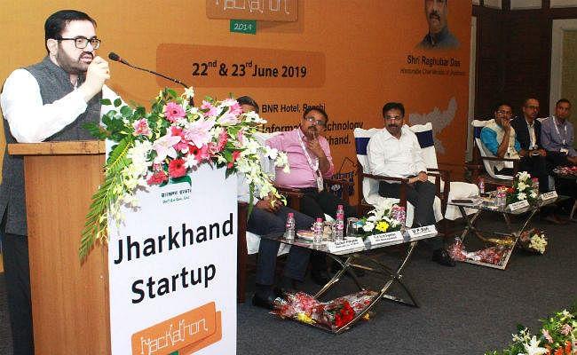 "दो दिवसीय झारखंड स्टार्टअप ""हैकाथन 2019"" शुरू, रविवार को शामिल होंगे मुख्यमंत्री रघुवर"
