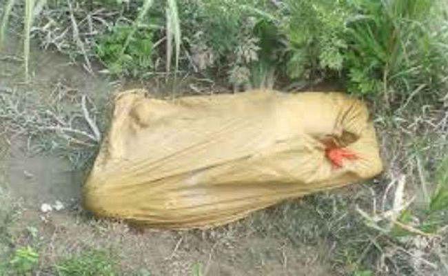 हरिहरगंज : नाबालिग लड़की की हत्या शव बोरे में भर कर फेंका