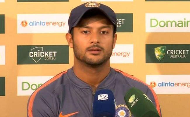 विजय शंकर विश्व कप से बाहर, मयंक टीम इंडिया में शामिल