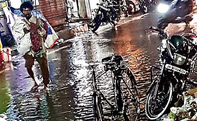 बंगाल की खाड़ी में बने निम्न दबाव का असर झारखंड पर, अगले पांच दिनों तक बारिश का अनुमान