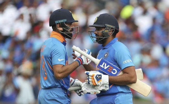 आईसीसी वनडे रैंकिंग में कोहली के करीब पहुंचे रोहित शर्मा