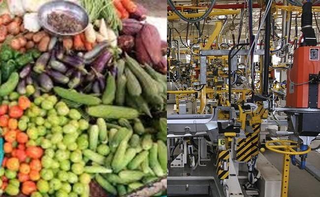खाने-पीने की चीजों के दाम बढ़ने से जून में खुदरा महंगाई दर में इजाफा, मई में औद्योगिक उत्पादन में गिरावट दर्ज