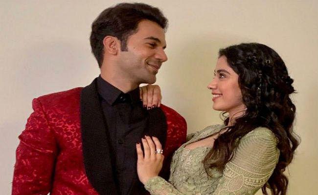 Roohi Afza में को-स्टार जाह्नवी की राजकुमार राव ने ऐसे की तारीफ