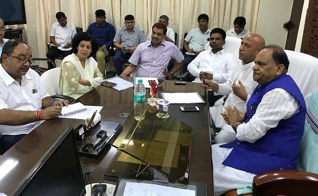 रांची और जमशेदपुर की पेयजल आपूर्ति व्यवस्था से मंत्री नाराज, सिस्टम दुरुस्त करने का दिया निर्देश