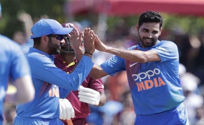 #INDvWI : रोहित के अर्धशतक से भारत ने वेस्टइंडीज को हराया, शृंखला पर 2-0 से कब्जा