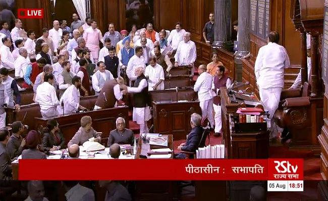 #Article 370: PM मोदी ने अमित शाह के भाषण को व्यापक और सारगर्भित बताया