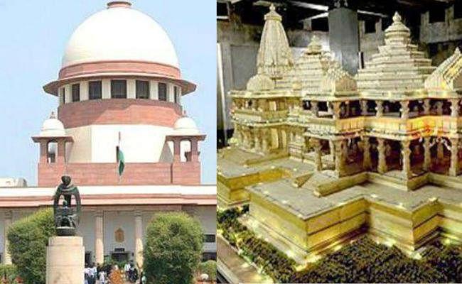 अयोध्या विवाद सुनवाई : निर्मोही अखाड़े ने कहा- विवादित ढांच पर  रहा है उसका अधिपत्य