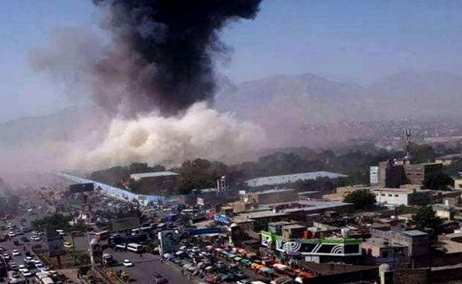 अफगानिस्तान: पुलिस हेडक्वार्टर को निशाना बनाकर धमाका, औरतों-बच्चों समेत 95 लोग घायल