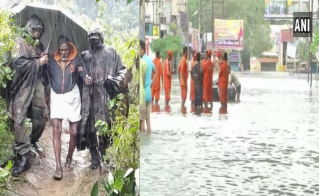 केरल, कर्नाटक और महाराष्ट्र में बारिश व बाढ़ से बढ़ी लोगों की मुश्किलें, 93 की मौत
