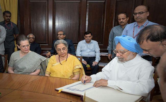 मनमोहन सिंह ने छठी बार ली राज्यसभा सदस्य के रूप में शपथ