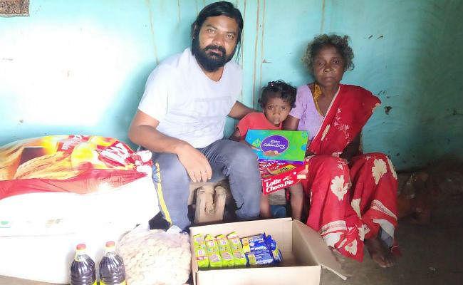 गुमला : भुखमरी में जी रही दादी-पोती की मदद के लिए बढ़ें हाथ