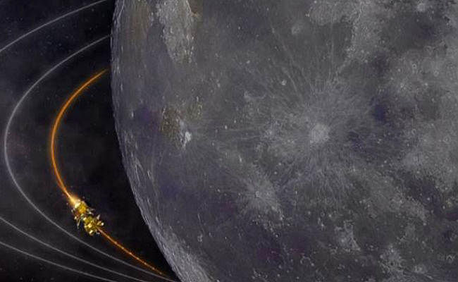 चंद्रमा की अंतिम कक्षा में प्रवेश किया चंद्रयान-2, सात सितंबर को करेगा लैंड , आज लैंडर से ऑर्बिटर होगा अलग ,