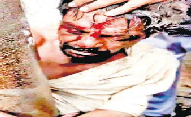 बच्चा चोर के संदेह में पीट पीट कर युवक की हत्या