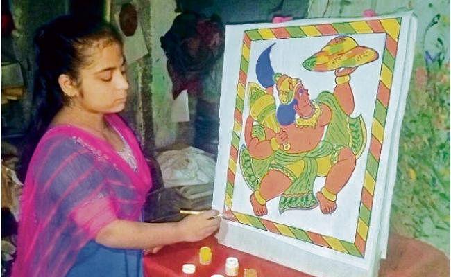 छोटी उम्र से ही कला के प्रति रहा रूझान