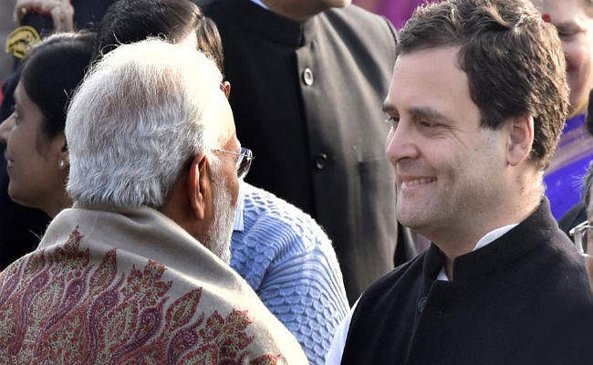 #HappyBdayPM: राहुल गांधी ने प्रधानमंत्री मोदी को दी जन्मदिन की बधाई