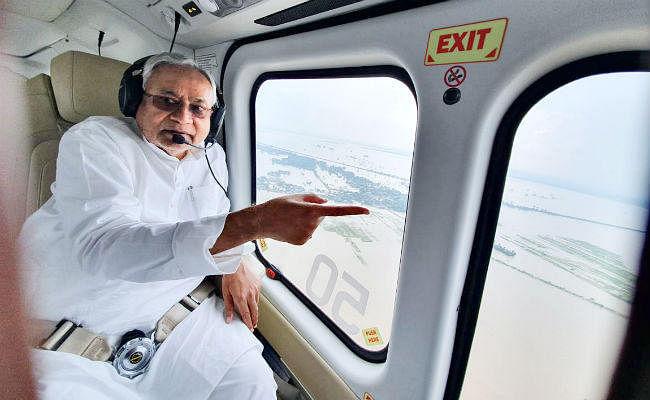 CM नीतीश ने गंगा और गंडक नदियों के जलस्तर में वृद्धि का कई किया हवाई सर्वेक्षण, अधिकारियों को दिये जरूरी निर्देश