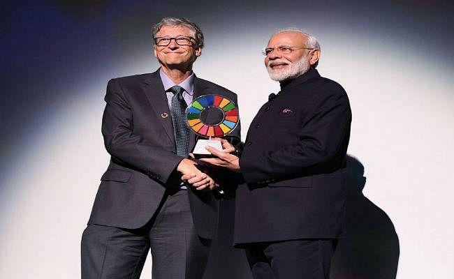 प्रधानमंत्री मोदी को मिला ग्लोबल गोलकीपर्स अवॉर्ड, बिल एंड मिलिंडा गेट्स फाउंडेशन ने किया सम्मानित