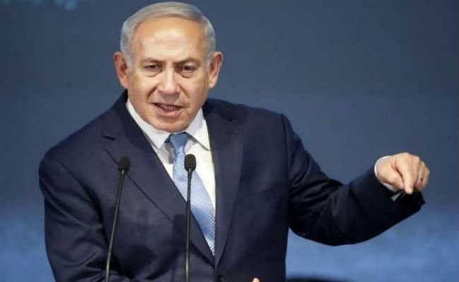 इजराइली राष्ट्रपति ने नेतन्याहू को नयी सरकार के गठन की जिम्मदारी सौंपी