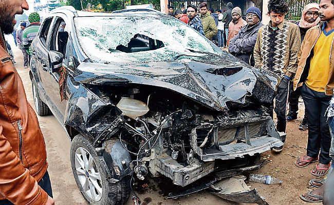 नशे में नौ लोगों को रौंद दिया, दो की मौत कार चला रहे युवक को खड़े-खड़े जमानत