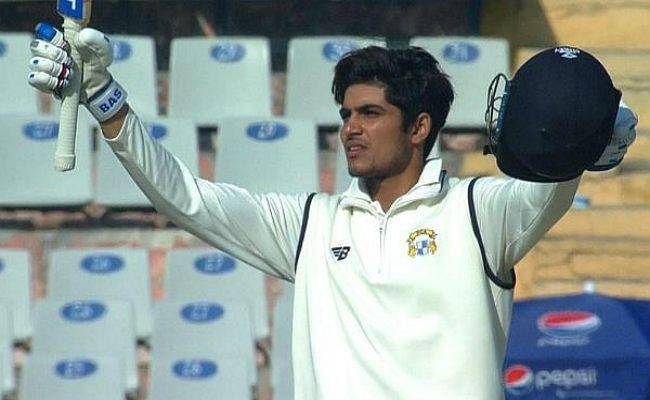 रणजी मैच में आउट होने के बाद अंपायर से उलझे शुभमन गिल