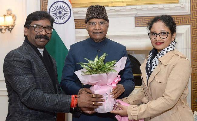 दिल्ली में राष्ट्रपति और पूर्व राष्ट्रपति से मिले झारखंड के मुख्यमंत्री हेमंत सोरेन