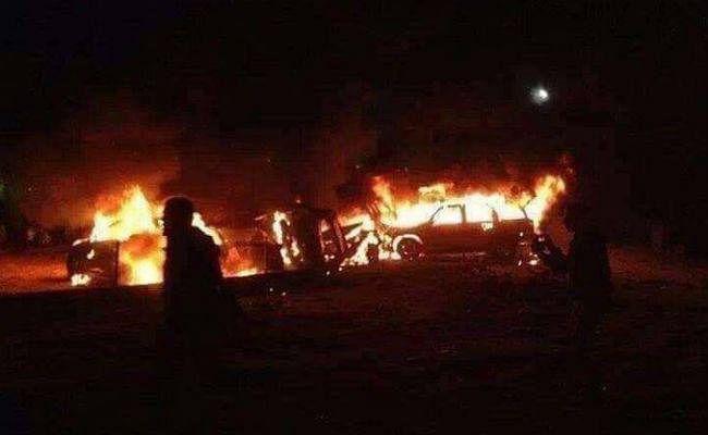 US Fresh Air Strike: अमेरिका ने ईरान समर्थक मिलिशिया के काफिले पर किया हवाई हमला, 6 जिंदा जले