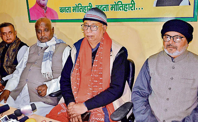 पूर्वी चंपारण : रोहिंग्या व घुसपैठियों का देश नहीं है भारत : संजय जायसवाल
