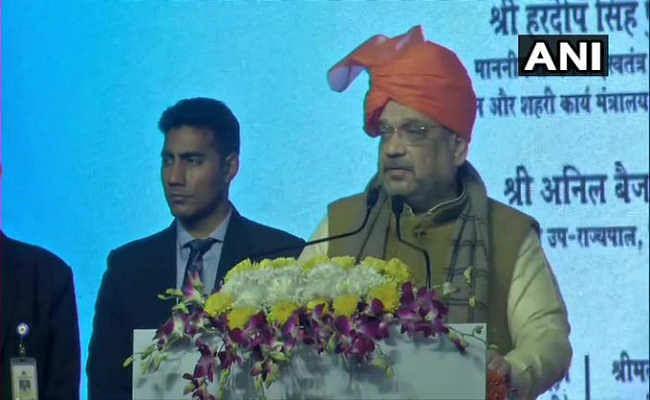 दिल्ली में चुनावी तारीखों के एलान से ठीक पहले अमित शाह ने केजरीवाल पर बोला हमला
