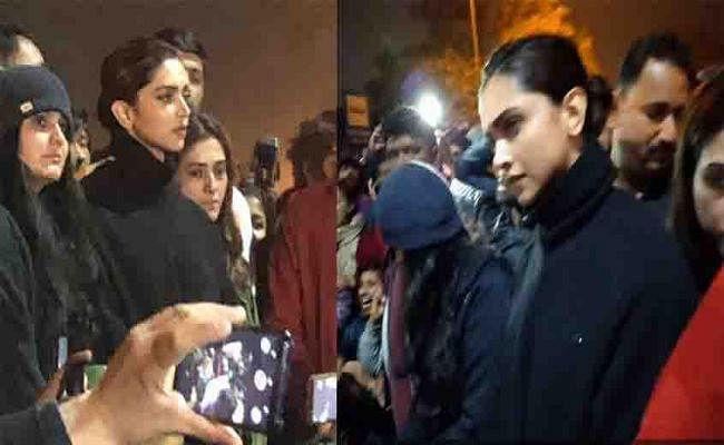 JNU के बजाय क्या RSS कार्यालय जायेंगी दीपिका पादुकोण? कांग्रेस का BJP पर हमला