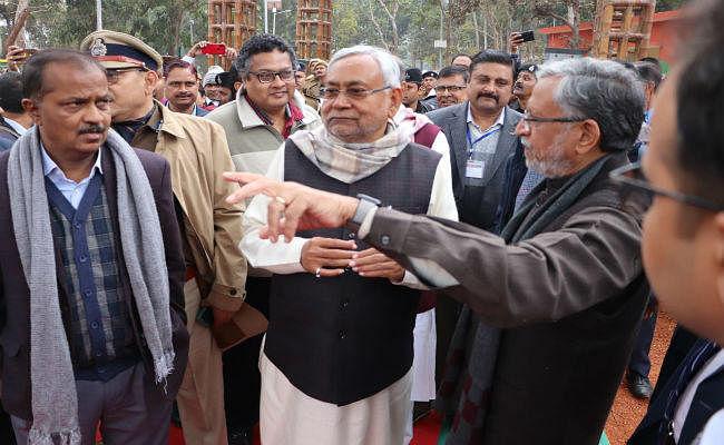 सीएम नीतीश कुमार ने मुंगेर में की जल-जीवन-हरियाली को लेकर समीक्षा बैठक