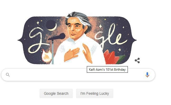 गूगल ने मशहूर शायर कैजी आजमी को 101वें जन्मदिन पर दी श्रद्धांजलि