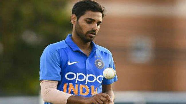 इंग्लैंड के खिलाफ घातक गेंदबाजी के लिए भुवनेश्वर कुमार ICC प्लेयर ऑफ द मंथ अवॉर्ड के लिए नामित