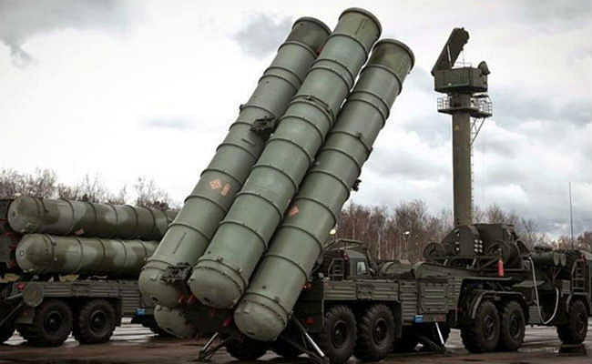 रूस ने भारत के लिए एस-400 मिसाइल प्रणालियों का निर्माण शुरू किया