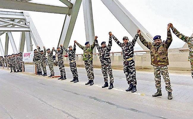 पटना सिटी : जल-जीवन-हरियाली को जुड़े हाथ से हाथ