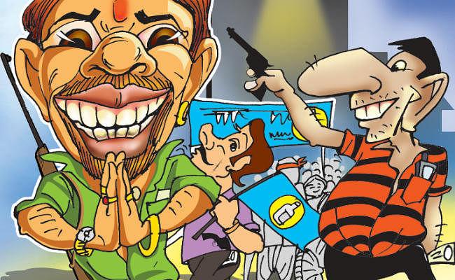 दिल्ली विधानसभा चुनाव : अपराधियों को टिकट देने में भाजपा आगे, कांग्रेस भी पीछे नहीं