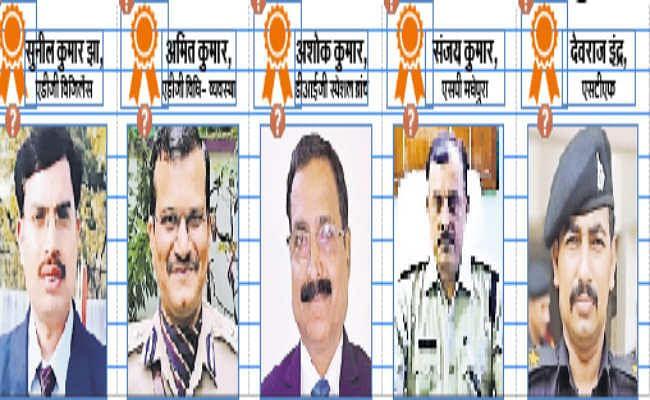 एडीजी सुनील झा व अमित कुमार को राष्ट्रपति पदक, डीआइजी, एसपी सहित 20 होंगे सम्मानित
