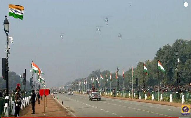 71वां गणतंत्र दिवस : पूरी दुनिया ने देखी भारत की ताकत, परेड में पहली बार दिखा चिनूक हेलिकॉप्टर्स