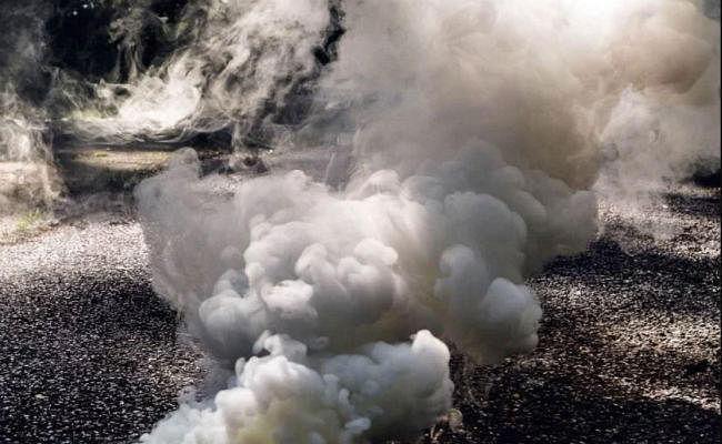 बगदाद में अमेरिकी दूतावास के पास एक के बाद एक दागे गए पांच रॉकेट