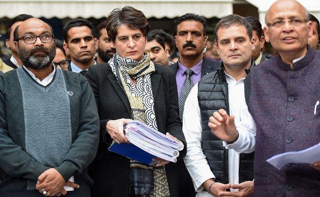 मानवाधिकार आयोग पहुंचे प्रियंका और राहुल, उप्र में अत्याचारों पर निर्णायक कार्रवाई की मांग