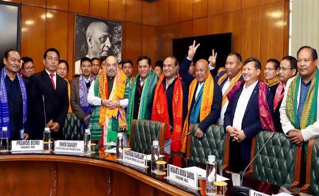 असम के बोडो क्षेत्रों में स्थायी शांति के लिए सरकार, एनडीएफबी, एबीएसयू के बीच समझौता