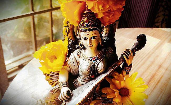 प्रणो: देवी सरस्वती वाजेभिर्वजिनीवती धीनामणित्रयवतु': कल मनेगी सरस्वती पूजा