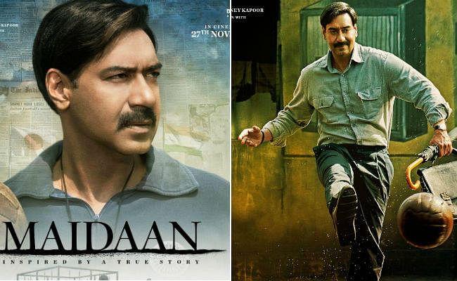 #Maidaan: अजय देवगन अब ''मैदान'' में, देखें दमदार पोस्टर
